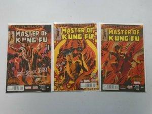 Master of Kung-Fu run #1-3 NM (2015 2nd Series)
