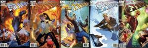 JACK AVARICE COURIER (2011 IDW) 1-5  COMPLETE series!