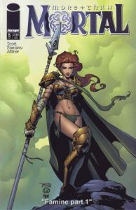 More Than Mortal #5A VF/NM; Liar | save on shipping - details inside