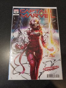 Captain Marvel 8 Carnage-Ized Cover First Appearance of Star NM
