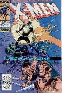 X-MEN #249, NM, Wolverine, Chris Claremont,1989, Havok, more in store
