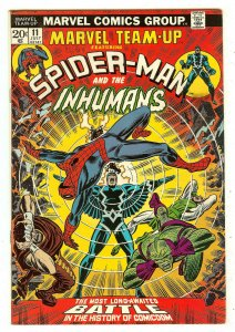 Marvel Team-Up 11   Spiderman & The Inhumans