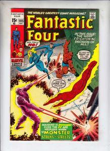 Fantastic Four #105 (Dec-70) VF/NM High-Grade Fantastic Four, Mr. Fantastic (...