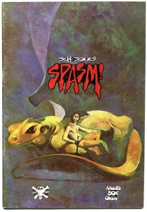 SPASM #1, VG+, Jeff Jones, Underground, 1973, 1st, more UG in store