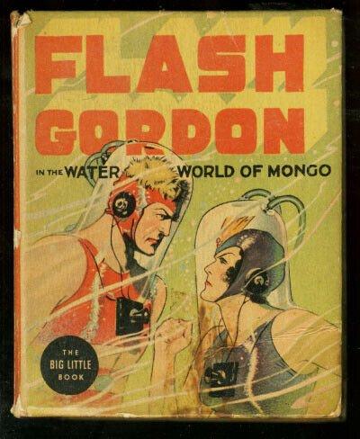 FLASH GORDON AND WATER WORLD OF MONGO-#1407-BLB-1937 VG