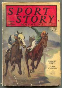 Sport Story Pulp October 8 1928- Rabbit Rides