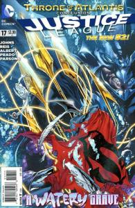 Justice League (2nd Series) #17 VF/NM; DC   save on shipping - details inside