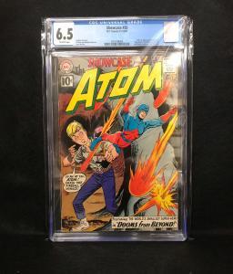 Showcase #35 (DC, 1961) CGC 6.5 - 2nd SA Atom