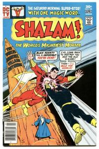 SHAZAM #28-1976-DC-FIRST BLACK ADAM-HIGH GRADE-KEY!!!