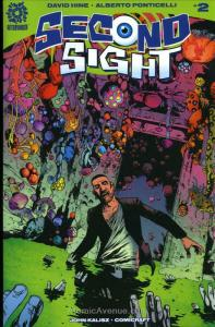 Second Sight #2 VF/NM; AfterShock | save on shipping - details inside