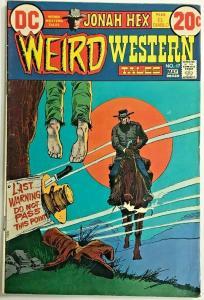 WEIRD WESTERN TALES#17  FN/VF 1973 JONAH HEX DC BRONZE AGE COMICS
