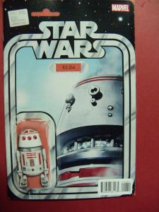 STAR WARS #013 ACTION FIGURE VARIANT  COVER NM 9.4 MARVEL COMICS 2015 SERIES