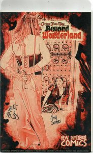 GFT Beyond Wonderland #0 New Dimension Red Parchment Variant Triple Sign W/COA.