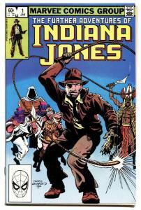 FURTHER ADVENTURES OF INDIANA JONES #1-MARVEL VF/NM.