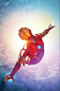 Invincible Iron Man by Caselli Poster (24 x 36) Rolled/New!