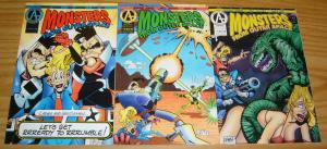 Monsters From Outer Space #1-3 VF/NM complete series GERARD JONES adventure set