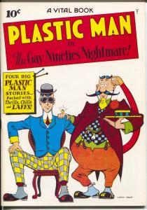 Flashback #33 1970's-Reprints Plastic Man #2  from 1944-NM
