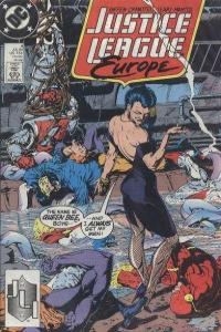 Justice League Europe #4, VF- (Stock photo)