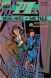 P.I.'s, The: Michael Mauser and Ms. Tree #3 VF; First | save on shipping - detai