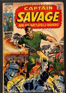 Captain Savage #12 (1969)