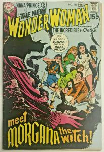 WONDER WOMAN#186 GD/VG 1970 DC BRONZE AGE COMICS