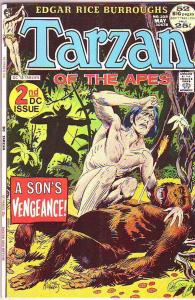 Tarzan #208 (May-72) FN/VF Mid-High-Grade Tarzan