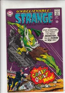 Strange Adventures #204 (Sep-67) NM- High-Grade The Crazy-Quilt Man