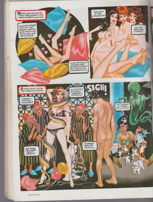 OH' WICKED WANDA - 1975 1st PRINT - PENTHOUSE F/N SHAPE, SEE DESCRIPTION