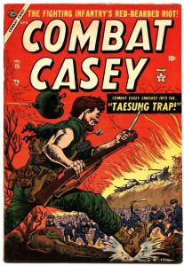 COMBAT CASEY #15 Joe Maneely cover Atlas Pre-Code war commies violent