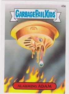 2015 Garbage Pail Kids  #43a Alarming Adam