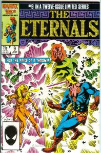 Eternals, The (Ltd. Series) #9 VF/NM; Marvel | save on shipping - details inside