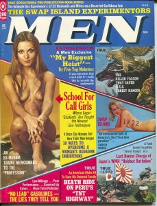 Men 3/1973-Atlas-WWII-TNT Highway-cheesecake-exploitation-crime-FN