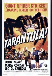 TARANTULA 1955 CLASSIC Glossy Poster CRAWLING TERROR