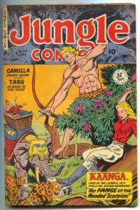 Jungle Comics #117 1949- Elephant headlight cover- Kaanga FN