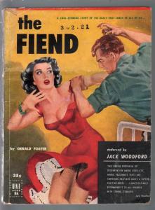 Uni Book #26 1940's-The Fiend-Gerald Foster-GGA-abuse-violent-VG