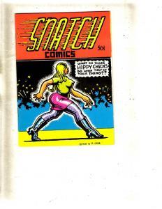 Snatch Comics 1968 Underground Comix Robert Crumb Comic Book VF Mini Book FM5