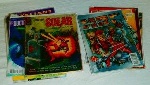 Acclaim/Valiant: Solar, Turok, Magnus, Iron Man +++ (set of 26)