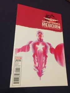 Captain America: Reborn #1 NM Marvel Comics (2009) Alex Ross Red Variant