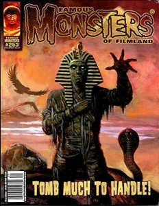 Famous Monsters of Filmland #253 SET OF FOUR COVERS:WALKING DEAD,STOUT,COVER C.