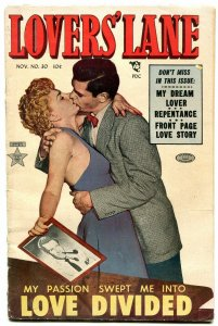 Lovers' Lane #30 1952- Golden Age Romance comic FAIR