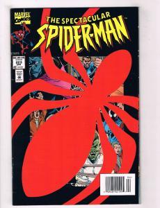 The Spectacular Spider-Man #223 VG Marvel Comics Comic Book Avengers 1994 DE34