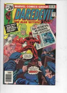 DAREDEVIL #135 VF+ Murdock, Jester, 1964 1976, more Marvel in store