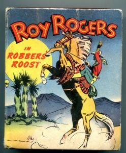 Roy Rogers Robbers Roost Big Little Book #1452