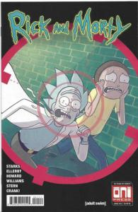 RICK and MORTY #41, 1st, VF/NM, Grandpa, Oni Press, from Cartoon 2015 2018