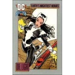 1991 DC Cosmic Cards - DR. LIGHT #45