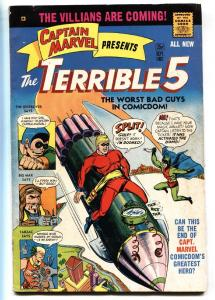 CAPTAIN MARVEL PRESENTS THE TERRIBLE FIVE #5-1967-comic book