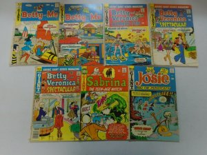 Archie Giant Series comic lot 7 different issues avg 5.0 VG FN