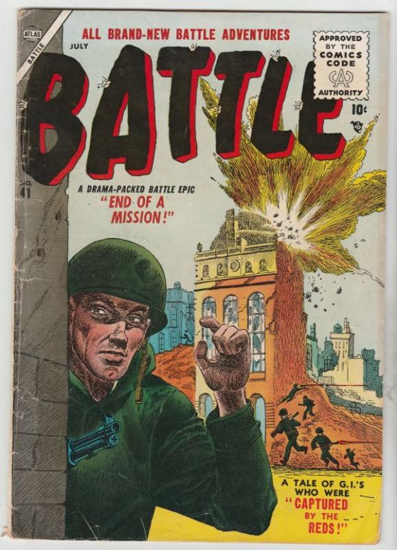Battle # 11 Strict FN+ Mid-High-Grade Cover Red Chinese Artist Gene Colan wow!