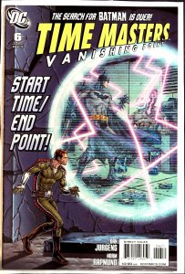 Time Masters: Vanishing Point #6 (2011)