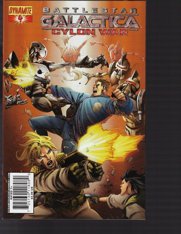 Battlestar Galactica Cylon War #4 (Dynamite, 2010)